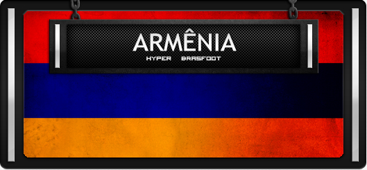 Brasfoot 2018 Patch Armênia, patch armeno para brasfoot, arménio, armênio, patch Arménia