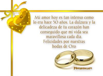 bodas de oro