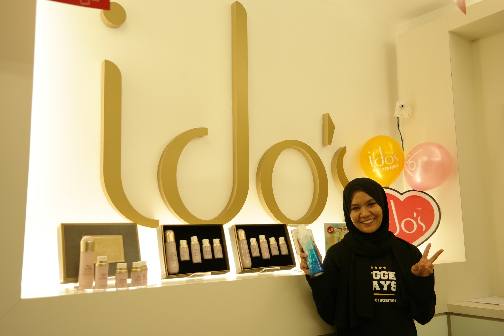 Ido's Clinic X Magic Water Blogger Party! Ido's Clinic, Magic Water, Functions of Magic Water, Best face mist, Sumuzu Hair Removal treatment, malaysian blogger spa party, spa party, ido's clinic setiawalk puchong,