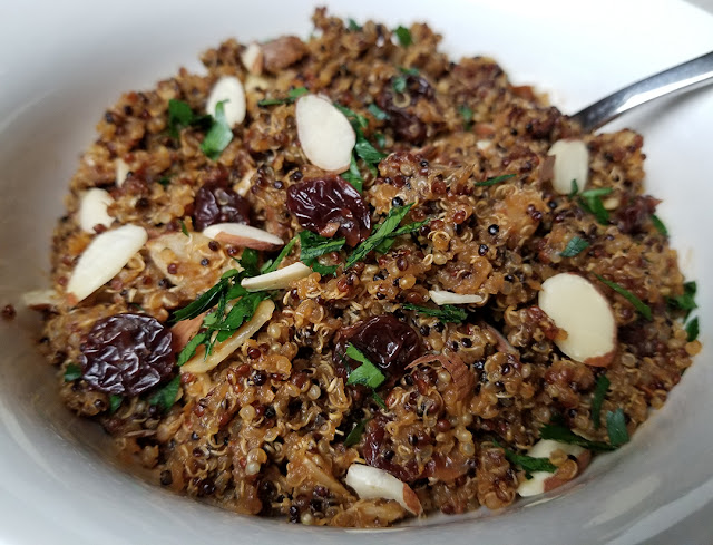 Vegan Cherry Almond Quinoa