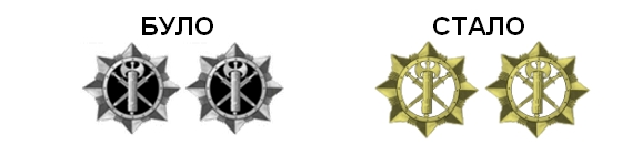 Міноборони змінило форму і знаки розрізнення військових
