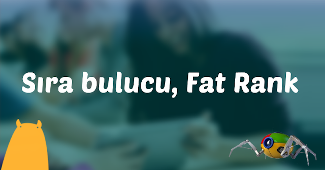 Sıra bulucu, Fat Rank
