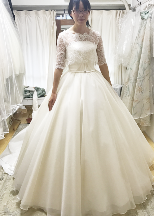 ウェディングドレスのお店 Couture Maman In Kobe 2way Wedding