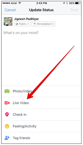 How Do You Go Live on Facebook Page