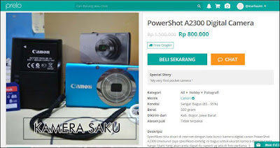 kamera saku