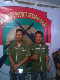 Komunitas Pencinta Senapan Angin Palembang (KOMSAP) Rayakan HUT yang  KE-3 dengan Tasyakuran