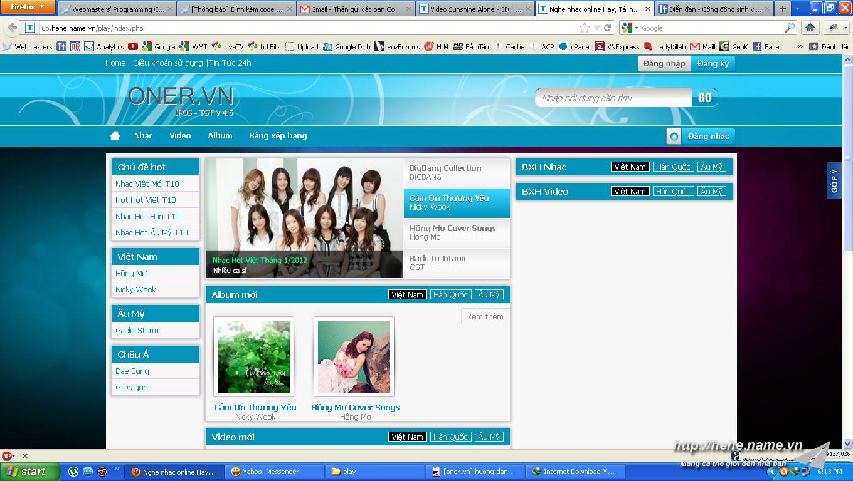 Chia sẻ code TGT music 4.5 mới nhất 2012