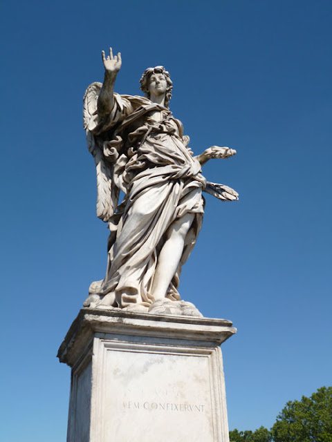Anjo da Escola do Bernini, Ponte Sant'Angelo