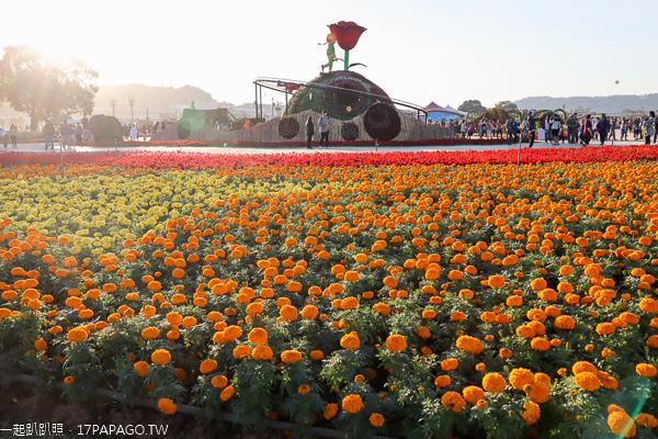 2019新社花海|台中國際花毯節|愛與希望-小王子的星球之旅|活動資訊