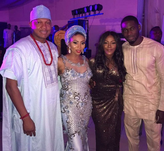 Tiwa Savage and Teebillz finally back together, pictured