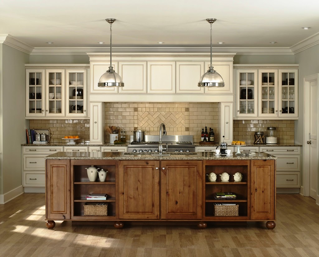 Abella Design: Contemporary Rustic Kitchen Cabinets