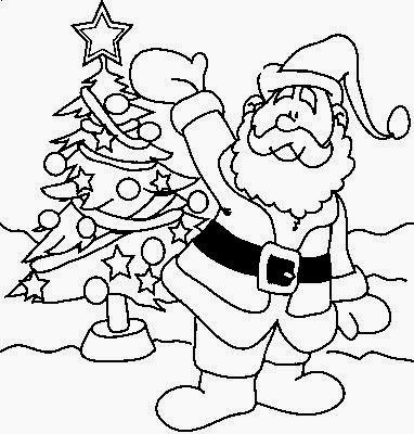 Coloring Pages: Páginas para colorear Feliz Navidad