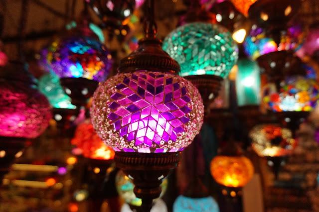 Colorful oriental lantherns