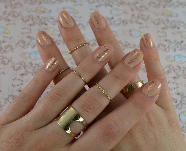 Miss Sophie's nail wraps Bohemian Girl Tragebild