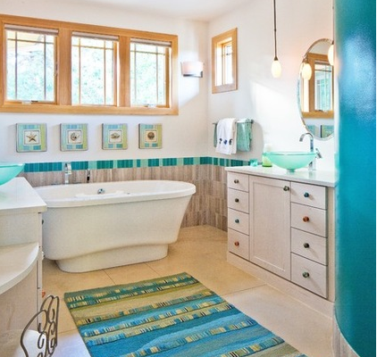 desain kamar mandi bergaya elektrik   rumah minimalis