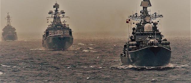 Μαύρη Θάλασσα: Ρωσικά πολεμικά εγκλώβισαν πλοία του ΝΑΤΟ