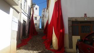 Photos: EVENT / Festival da Água e do Tempo, Clepsidra 2018 (20 - Mar Vermelho, Save As PNG, Rua dos Serralheiros), Castelo de Vide, Portugal