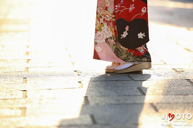 成人式前撮りを京都で