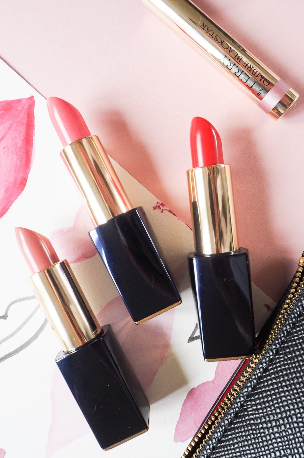 Estee Lauder Pure Colour Envy Hi-Lustre Light Sculpting Lipsticks in 11 Nude Reveal, 220 Sheer Sin and 320 Drop Dead Red