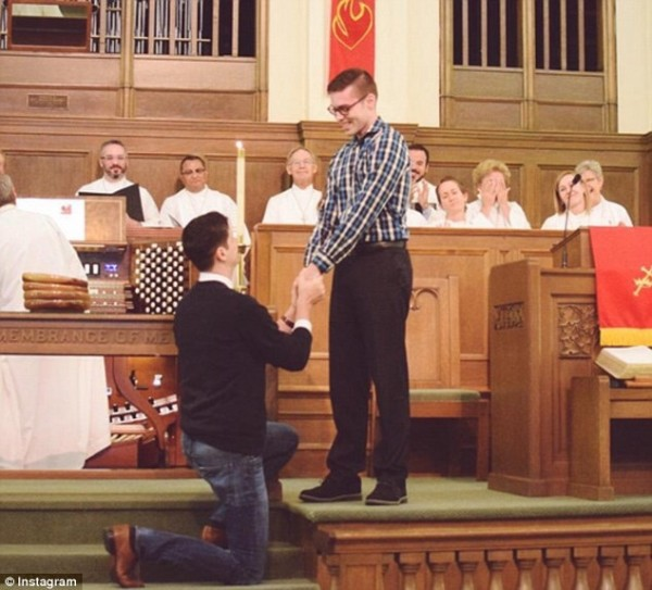gay proposes to partner methodist church