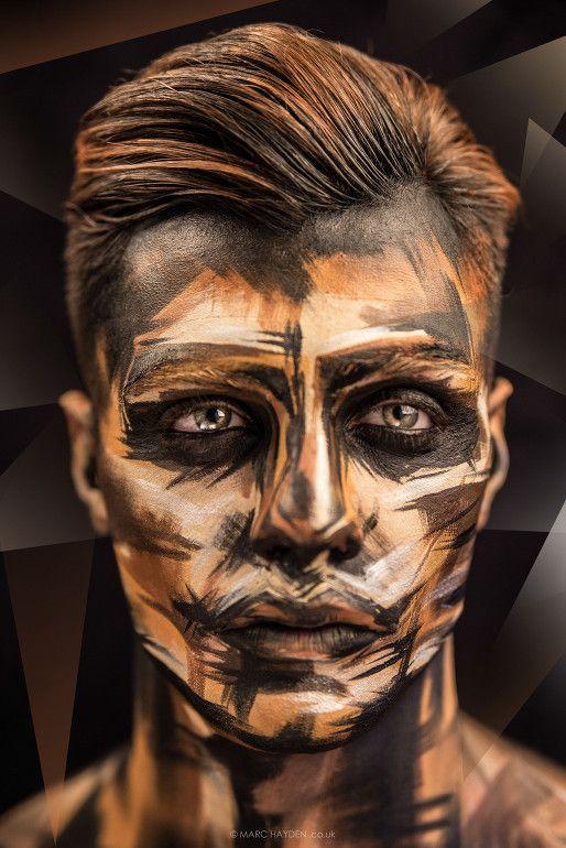 maquiagem de halloween 2018 2019 masculina facil