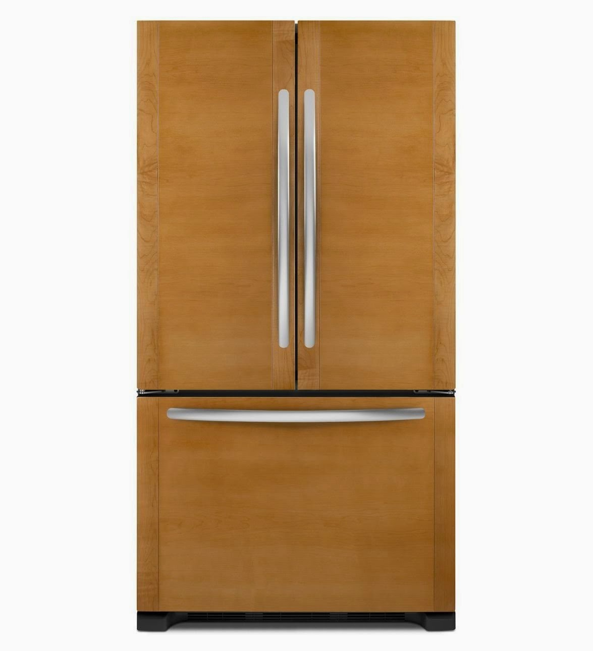 Shop Kitchenaid 24 8 Cu Ft Side By Side Refrigerator With: Counter Depth Refrigerators Reviews: Kitchenaid Counter