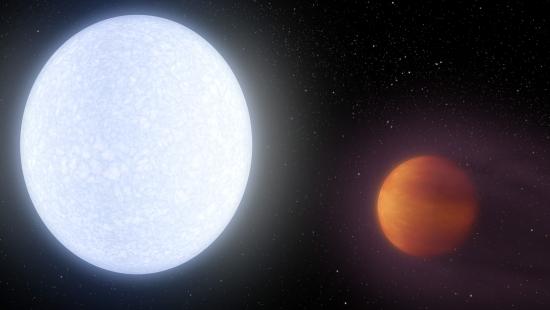Planeta mais quente já descoberto é tão quente quanto estrela
