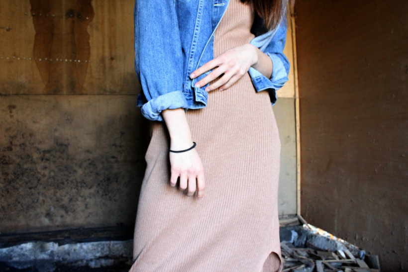 Travel with maxi dress