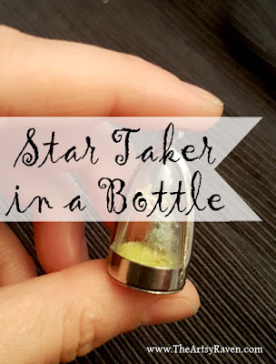 Star Taker in a Bottle by TheArtsyRaven