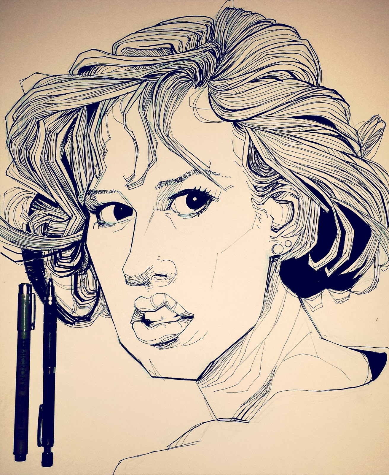 Breakfast Club Molly Ringwald drawing