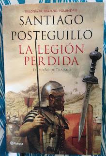 Portada del libro La legión perdida, de Santiago Posteguillo