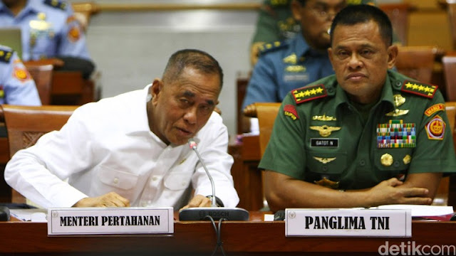 Beda Sikap Menhan dan Panglima TNI Soal Patroli Bersama di Perairan Filipina