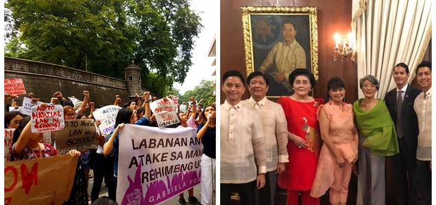 "Students from U.P and MAPUA wants to ban Marcoses from entering their campus: ""They endanger student lives and freedoms"" 