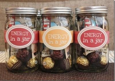 Energy in a jar adalah hadiah siap makan nan praktis