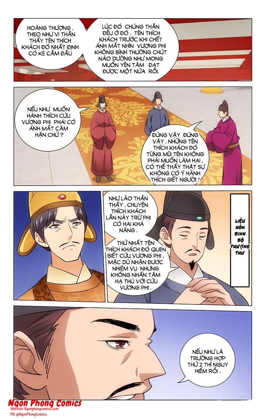 Vương Gia Không Nên A Chap 62 - Trang 9