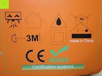 Sicherheit: LIHAO 5M LED Strip Warmweiß 600 SMDs Band wasserdicht Streifen mit Hohlbuchse+Netzteil DC 12V Trafo Set [Energieklasse A]