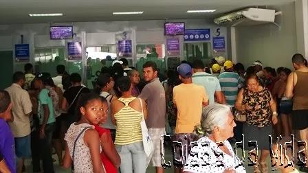 Lotéricas bastante movimentadas no penúltimo dia de aposta da Mega-Sena da Virada