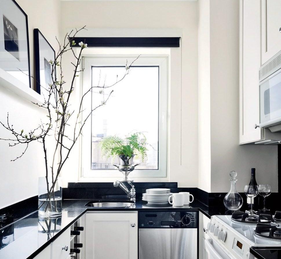 Black White Kitchen Design Putihelledecor.com