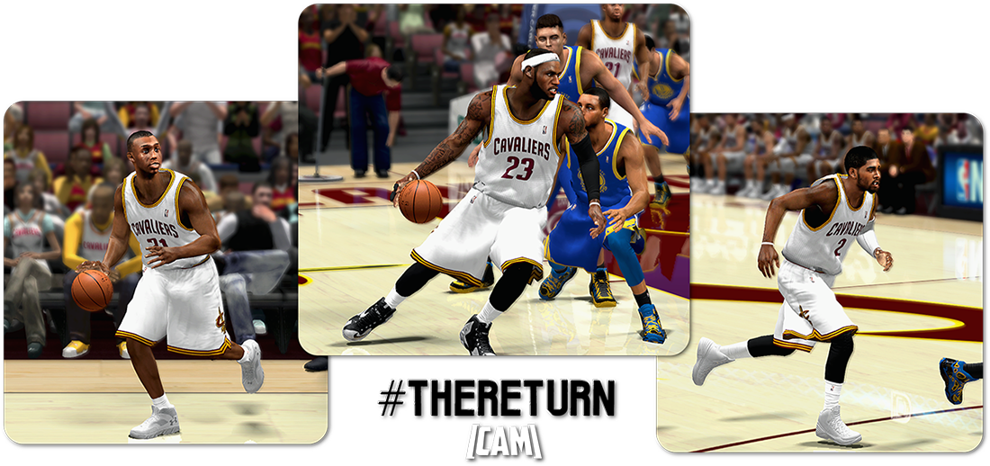 NBA 2K14 #TheReturn HD Global Mod