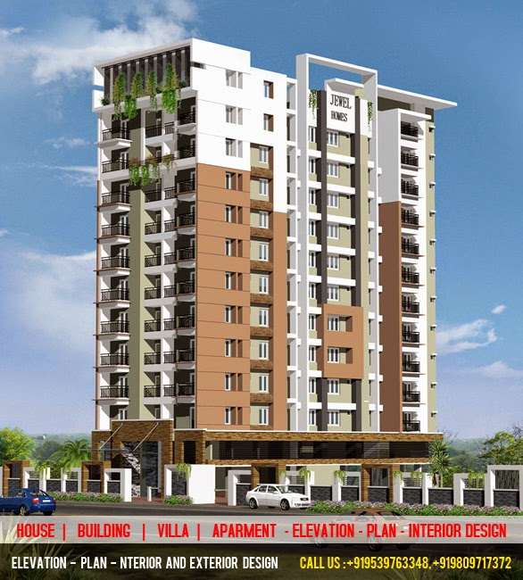 Best Elevation Plan Interior Design House Villa Apartment Buildings