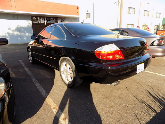 Acura CL after complete repainting at Almost Everything Auto Body