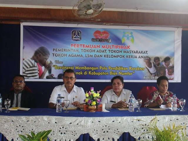 Perjuangkan Hak dan Perlindungan Anak dan Perempuan, Dewan Adat Papua Gelar Pertemuan