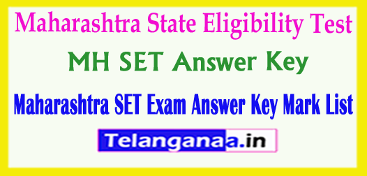 Maharashtra SET Answer Key 2018 State Eligibility Test Answer Key 2018 Download