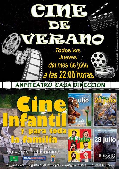 Cine de Verano 2016