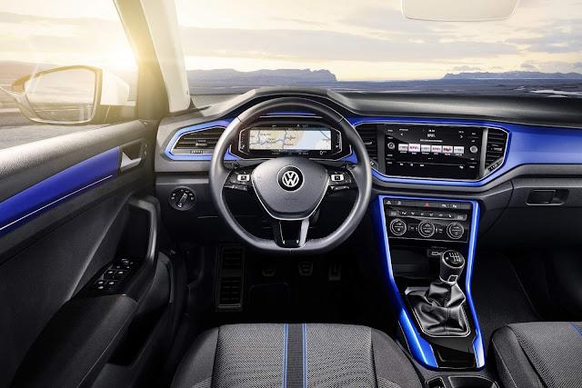 Volkswagen T-ROC - interior - painel