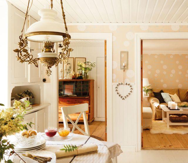 Shabby and Charme: la casa di campagna di un dirigente Ikea
