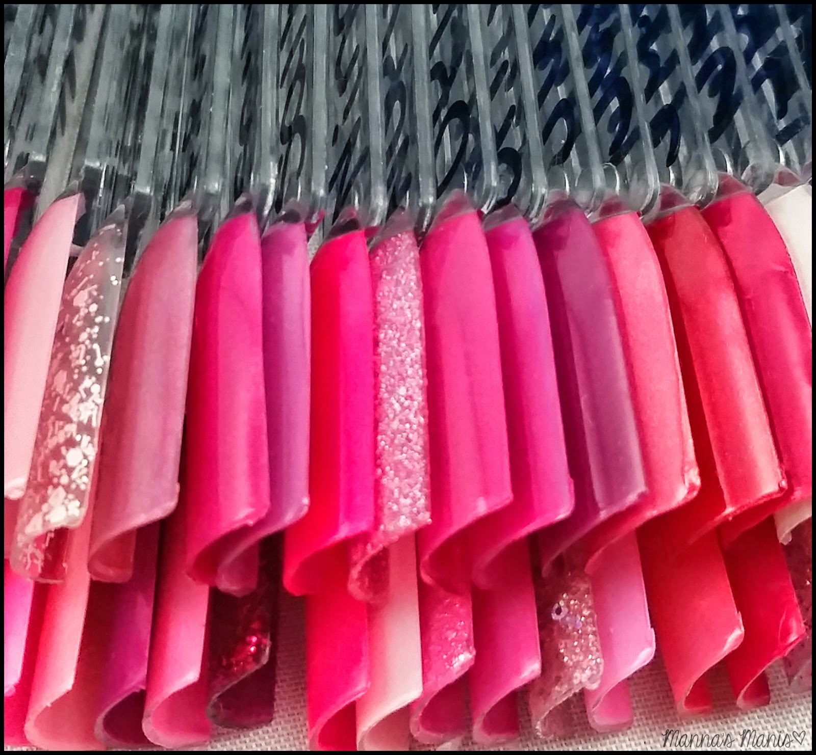 pink swatch sticks
