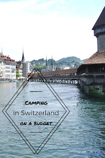 Camping with children on a budget (in Lucerne, Switzerland)