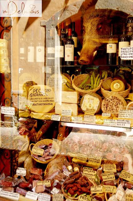 tsokania, san gimignano, toskańska kuchnia, włoska kuchnia, regionalne specjały