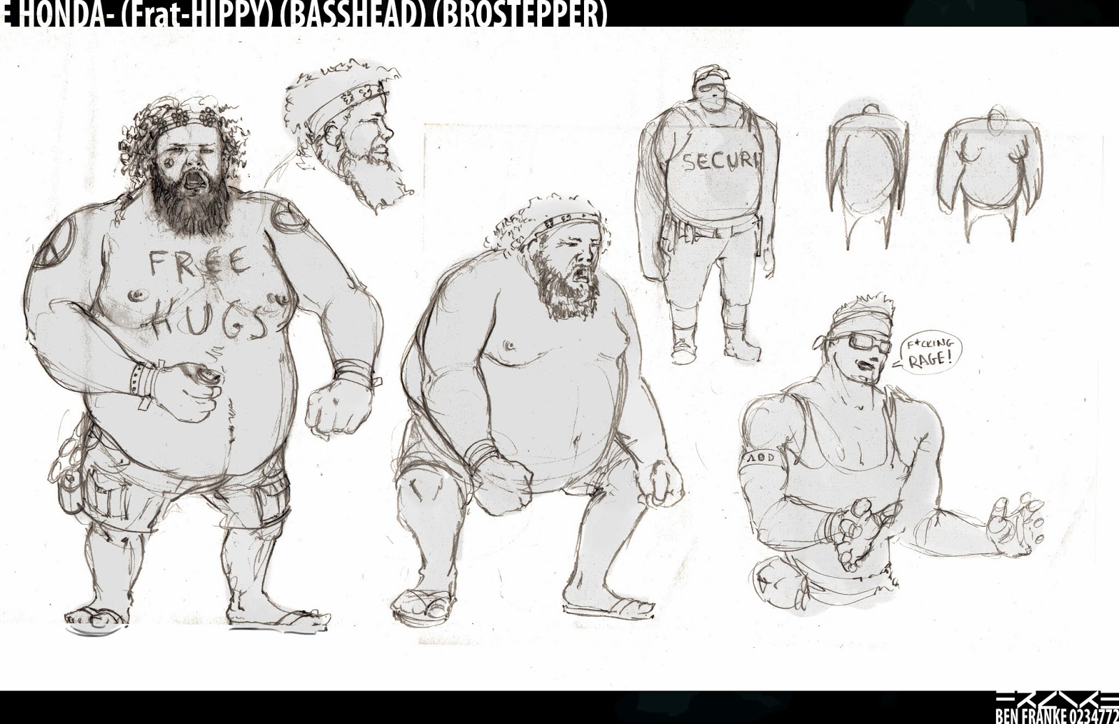 Character Design 1 - Street Fighter Redesign - Festival